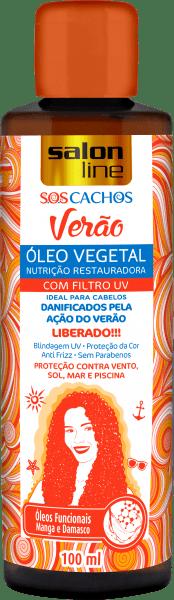 ÓLEO S.O.S CACHOS VERÃO NUTRIÇÃO RESTAURADORA, 100ml