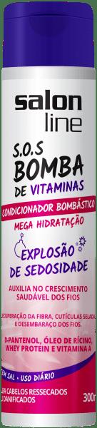 Condicionador Bombástico Mega Hidratação, 300ml