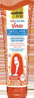MÁSCARA S.O.S CACHOS VERÃO NUTRIÇÃO RESTAURADORA, 250ml