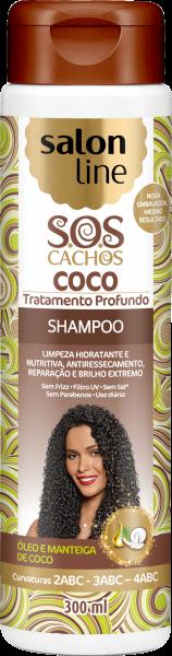 SHAMPOO COCO S.O.S CACHOS, 300ml