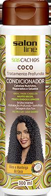 CONDICIONADOR COCO S.O.S CACHOS, 300ml