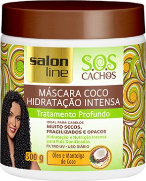 MÁSCARA COCO S.O.S CACHOS, 300ml