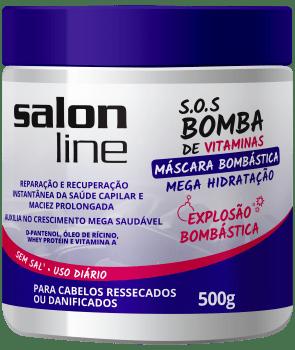 MÁSCARA BOMBÁSTICA MEGA HIDRATAÇÃO, 500g