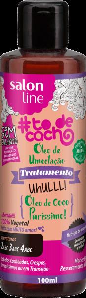 ÓLEO DE UMECTAÇÃO! UHULLL! ÓLEO DE COCO PURÍSSIMO!