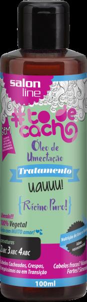 Óleo Vegetal: Rícino Puro – Óleo de umectação! Uauuu! #todecacho