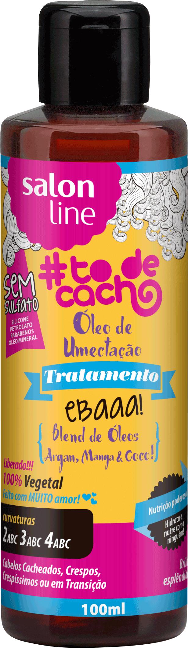 f9696f60d ÓLEO DE UMECTAÇÃO! EBAAA! BLEND DE ÓLEOS DE ARGAN, COCO E MANGA! - Tô de  Cacho