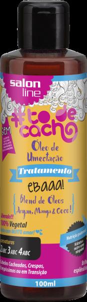 ÓLEO DE UMECTAÇÃO! EBAAA! BLEND DE ÓLEOS DE ARGAN, COCO E MANGA!