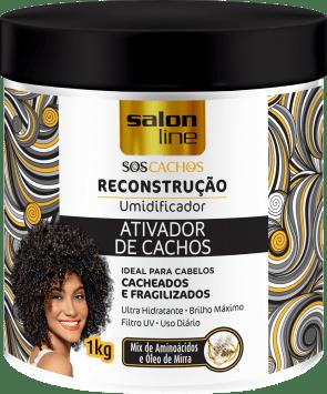 SOS CACHOS ATIVADOR  RECONSTRUÇÃO, 1kg