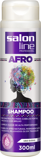 SHAMPOO AFRO, 300ml