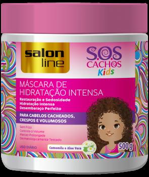 S.O.S KIDS MÁSCARA DE HIDRATAÇÃO INTENSA 500g