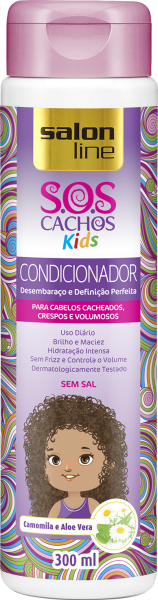 CONDICIONADOR SOS CACHOS KIDS, 300ml