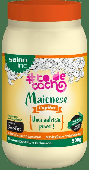 MAIONESE CAPILAR – NUTRIÇÃO POWER, 500g