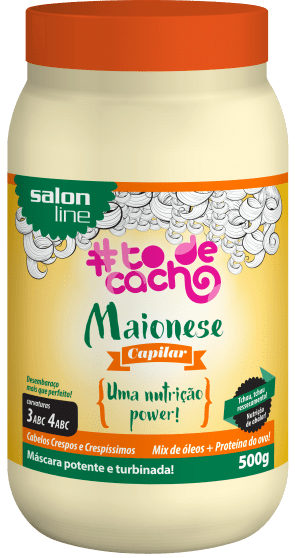 95153 MAIONESE CAPILAR NUTRICAO POWER #TODECACHO 500ML