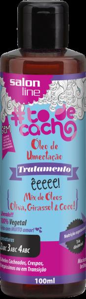 ÓLEO DE UMECTAÇÃO! ÊEEEE! MIX DE ÓLEOS GIRASSOL, OLIVA E COCO!