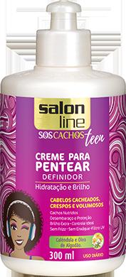 CREME PARA PENTEAR TEEN CACHOS SOS, 300ML