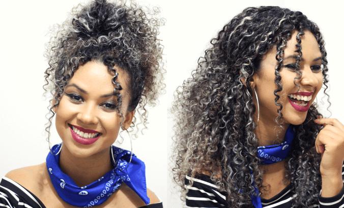 CAPA - Penteados práticos para cacheadas e crespas