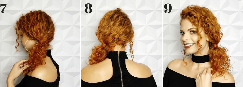 Penteado preso: penteado para day after