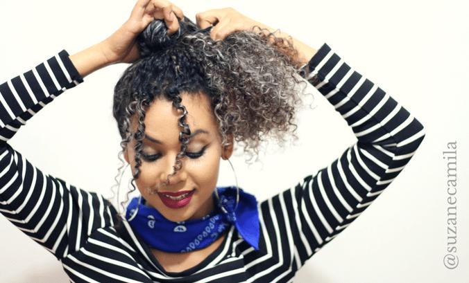 Penteados práticos para cacheadas e crespas