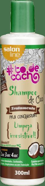 SHAMPOO DE COCO – TRATAMENTO COSMÉTICO PRA CONQUISTAR – {LIMPEZA IRRESISTÍVEL!}, 300ML