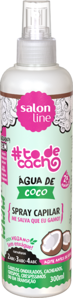 Spray capilar #todecacho água de coco salon line