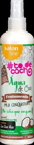 ÁGUA DE COCO – TRATAMENTO COSMÉTICO PRA CONQUISTAR – {ME SALVA QUE EU GAMO!}, 300ML