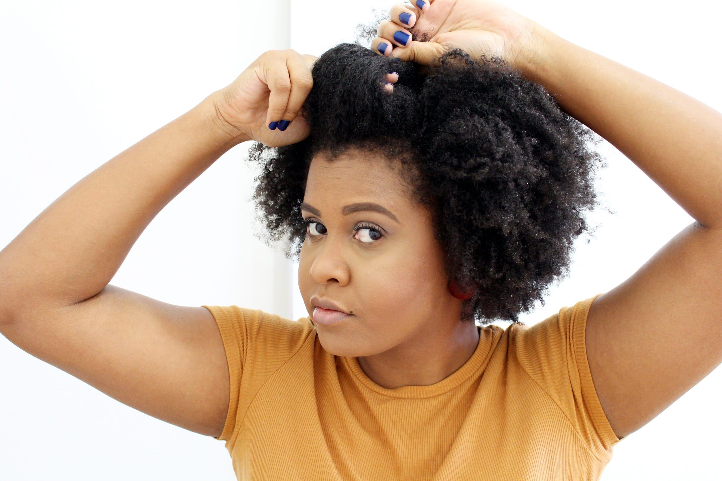 Penteados para cabelos cacheados e crespos