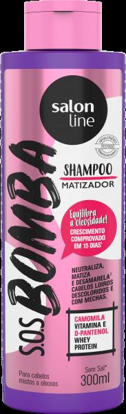 SHAMPOO S.O.S BOMBA MATIZADOR – CABELOS MISTOS A OLEOSOS