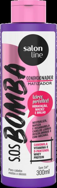 CONDICIONADOR S.O.S BOMBA MATIZADOR – CABELOS MISTOS A OLEOSOS