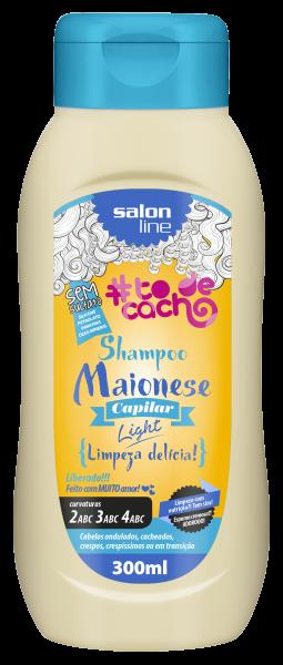 SHAMPOO – MAIONESE CAPILAR LIGHT – {LIMPEZA DELÍCIA!}, 300ML