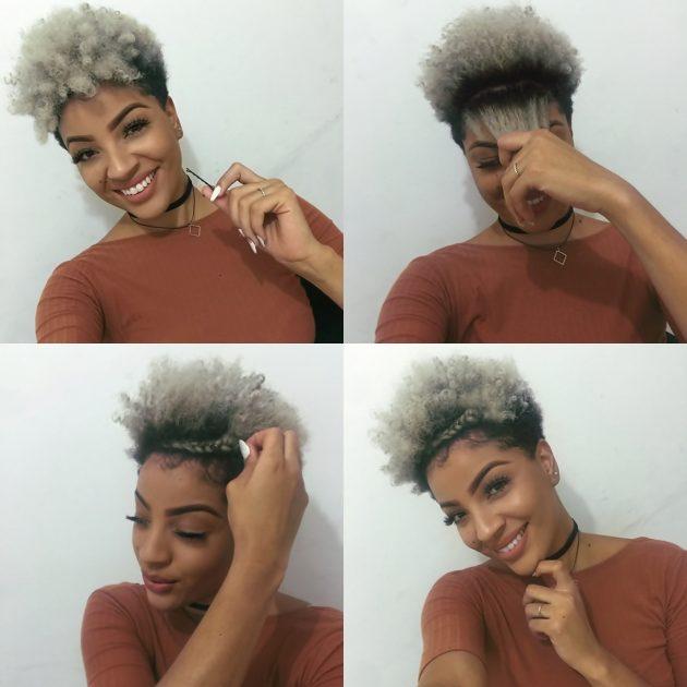 Penteados para cabelos curtos: Passo a passo e inspirações
