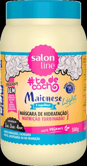 MAIONESE CAPILAR LIGHT {UMA NUTRIÇÃO TURBINADA}, 500g