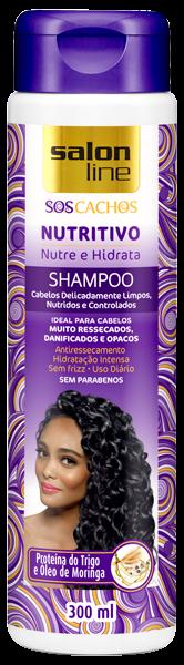 SHAMPOO NUTRITIVO S.O.S CACHOS