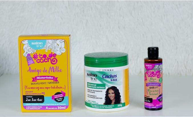 foto 3 texto - Hidratação para o cabelo com produtos Salon Line