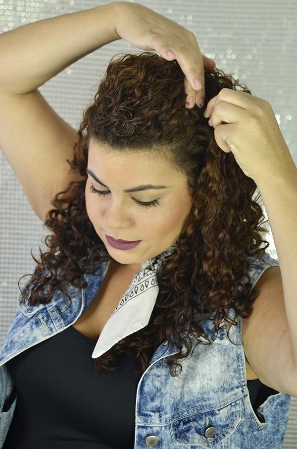 2 1 - Penteados semipresos: penteado lateral com topete