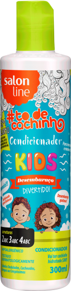 CONDICIONADOR KIDS {DESEMBARAÇO DIVERTIDO!} #TODECACHINHO