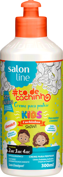 Creme para Pentear Kids {Cachinhos Show!} #TODECACHINHO