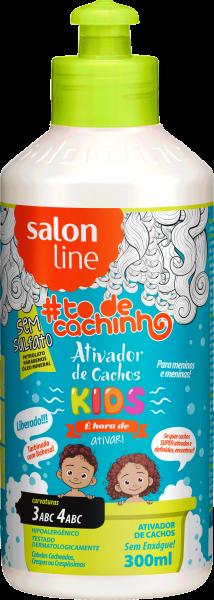 Ativador de Cachos Kids {É Hora de Ativar!} #TODECACHINHO