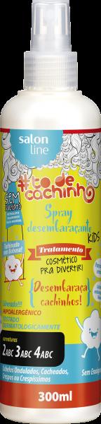 Spray Desembaraçante Kids {Desembaraça Cachinhos!} #TODECACHINHO