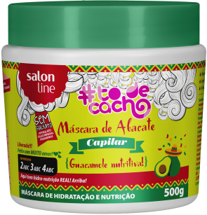 máscara de abacate #todecacho