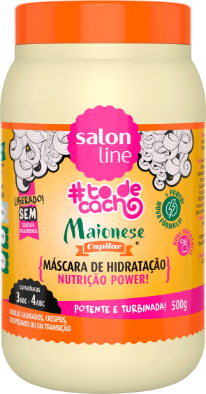 MASCARA-MAIONESE-NUTRICAO-POWER-#TDC-500G
