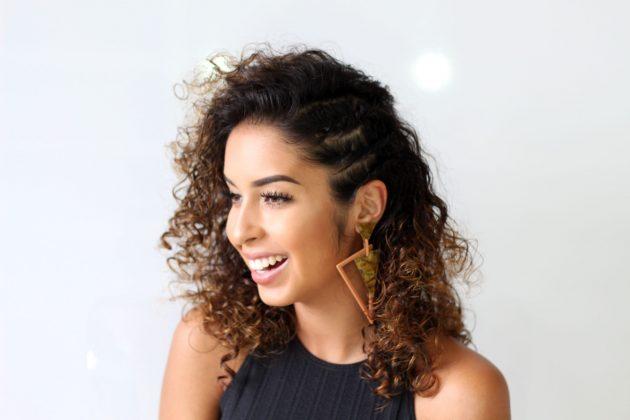 Penteados para madrinhas cabelo médio 5 630x420 - Penteados para madrinhas cabelo médio: fotos e dicas de penteados soltos, presos e semipresos