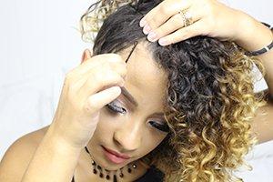 Moicano para cabelos cacheados e crespos