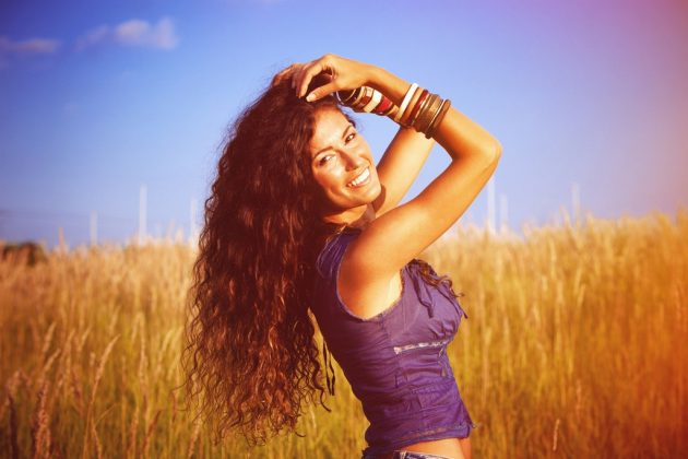 cabelo repicado longo5 630x420 - Cabelo repicado longo: variações do corte, dicas de finalização, cuidados e inspirações