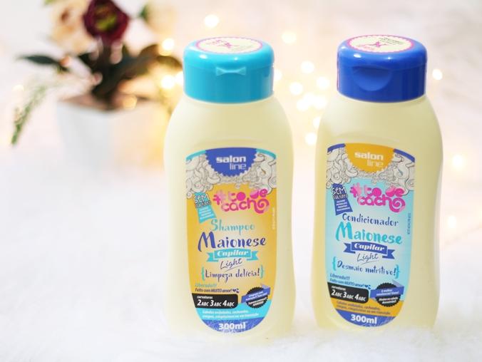 Shampoo e condicionador Maionese Capilar