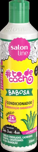 Condicionador de babosa #todecacho limpeza poderosa