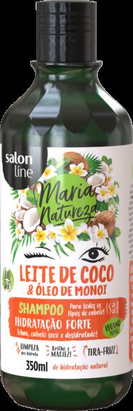 SHAMPOO LEITE DE COCO E MONOI, 350ml – MARIA NATUREZA