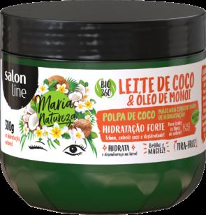 MÁSCARA LEITE DE COCO E MONOI, 300g – MARIA NATUREZA