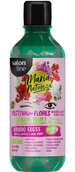 LEAVE-IN CC CREAM FESTIVAL DAS FLORES, 100ml – MARIA NATUREZA