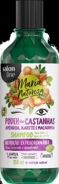 SHAMPOO PODER DAS CASTANHAS, 350ml – MARIA NATUREZA