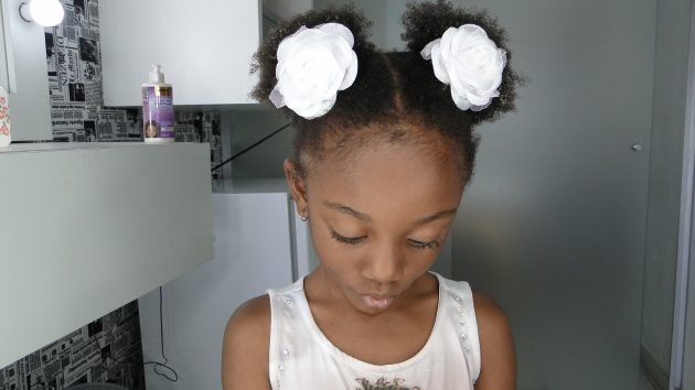 DSC00445 630x354 - Penteado infantil: Fotos, dicas e passo a passo de penteados para crianças